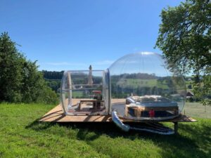 Bubble-Hotel Wasserschloss Hagenwil