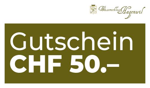Gutschein CHF 50.– per Post