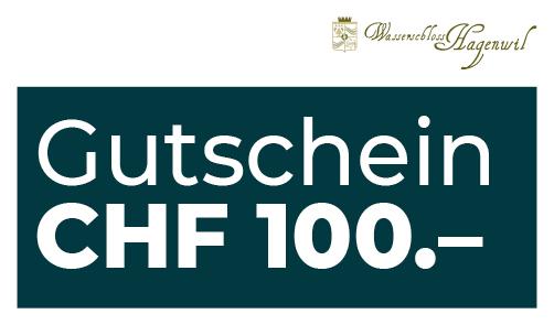 Gutschein CHF 100.– per Post